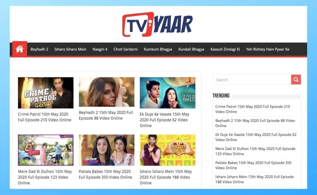 Tvyaar: Watch Online Hindi Serials and Shows for Free